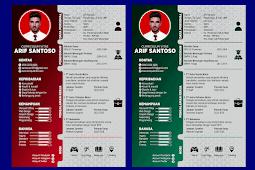 Contoh CV Lamaran Kerja Yang Baik dan Menarik - Design #40