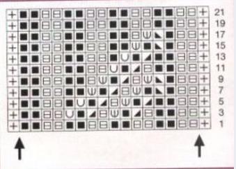 вязание спицами. схема