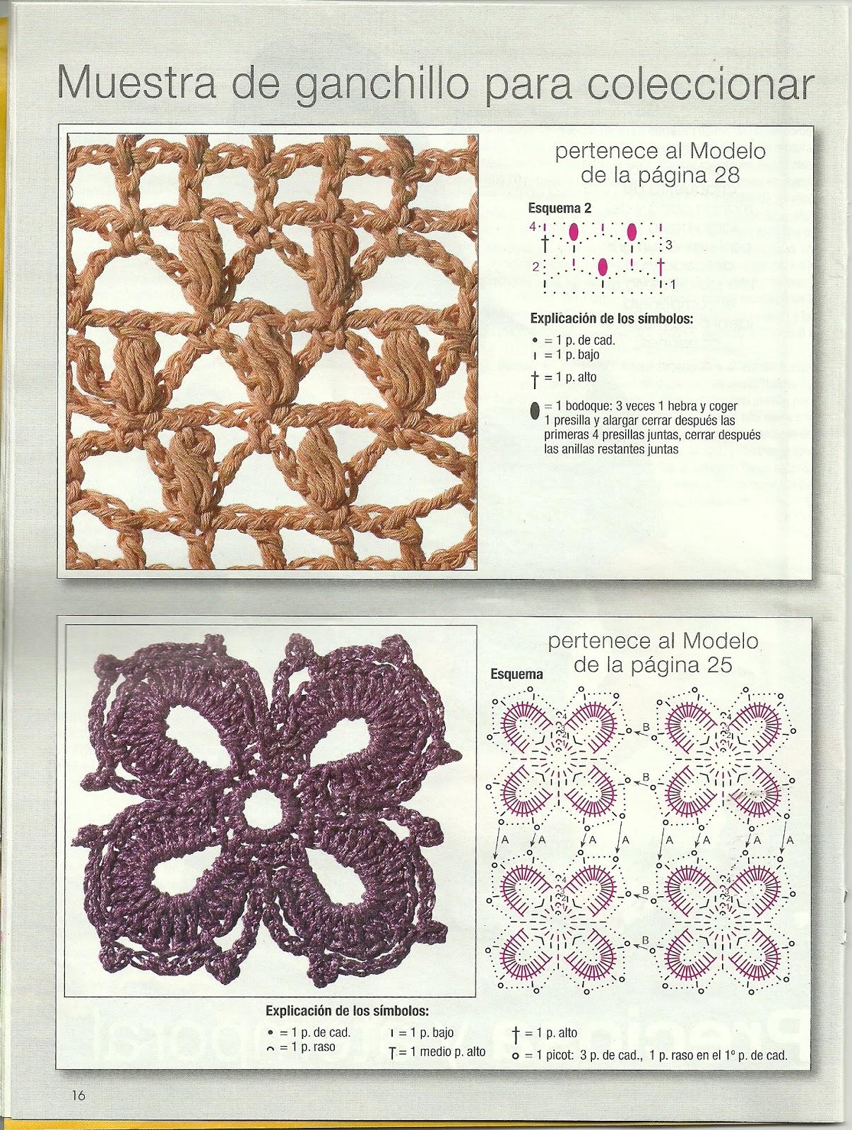 Revista con Patrones de Crochet Junio 2013