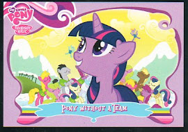My Little Pony Pony Without a Team Series 1 Trading Card