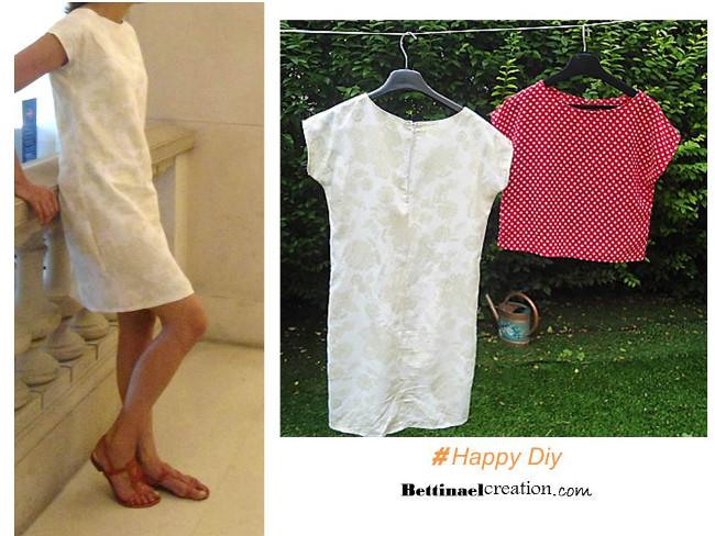 Extrêmement PATRON ET TUTO GRATUIT : Couture facile débutant Bettinael.Passion  TA36