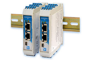 Industrial Ethernet Input and Output Modules on DIN Rail