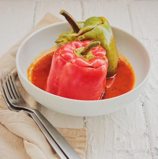 Iranian Stuffed Pepper