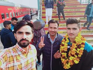 राष्ट्रीय स्तर पर 200 मीटर इवेंट के फाइनल में पिछले सारे रिकॉर्ड ध्वस्त करते हुए स्वर्ण पदक हासिल किया पिछला रिकॉर्ड जो कि 23.40 सेकंड का था और इसी के साथ नया रिकॉर्ड दर्ज करते हुए राहुल ने यह प्रतिस्पर्धा मात्र 23.38 सेकंड  मैं जीतकर नया राष्ट्रीय कीर्तिमान हासिल किया!