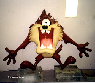"pierre rouzier_Warner Bros - ""taz #2"" sculpture"