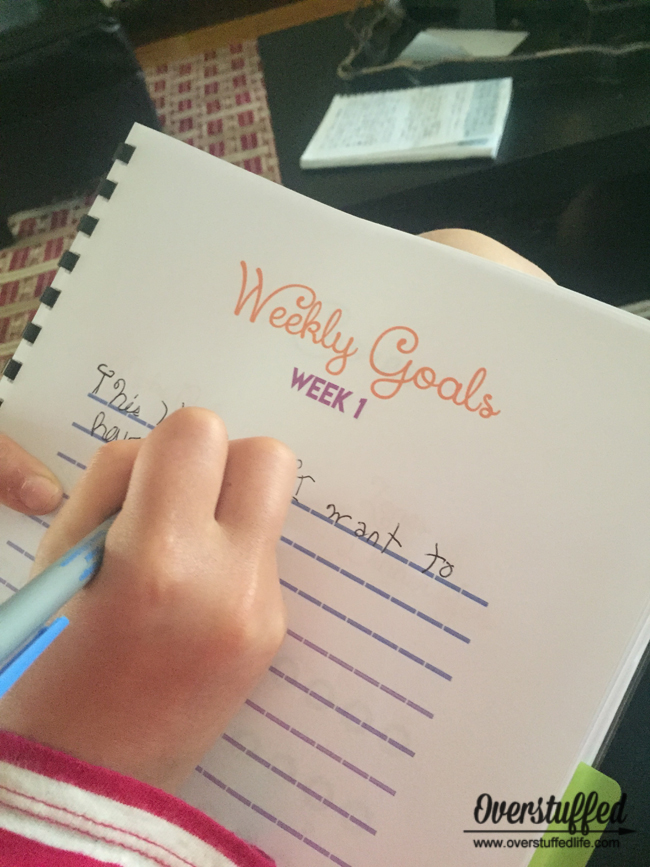 Help your kids be amazing this summer with goal-setting.