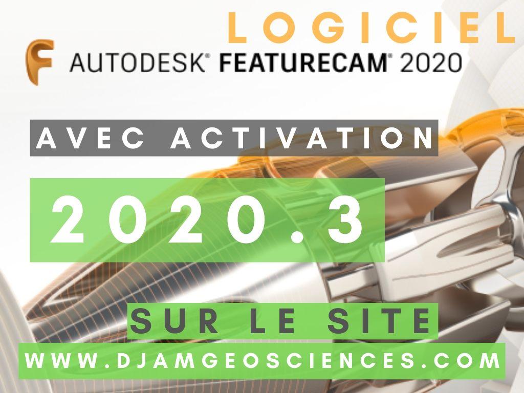 Autodesk 2020 | TÉLÉCHARGER FEATURECAM ULTIMATE 2020.3 | AVEC ACTIVATION