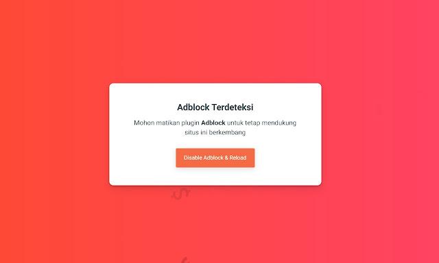 Anti Adblock Blogger