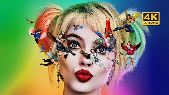 Aves de presa (y la fantabulosa emancipación de una Harley Quinn) (2020) Web-DL 4K UHD 2160p Latino