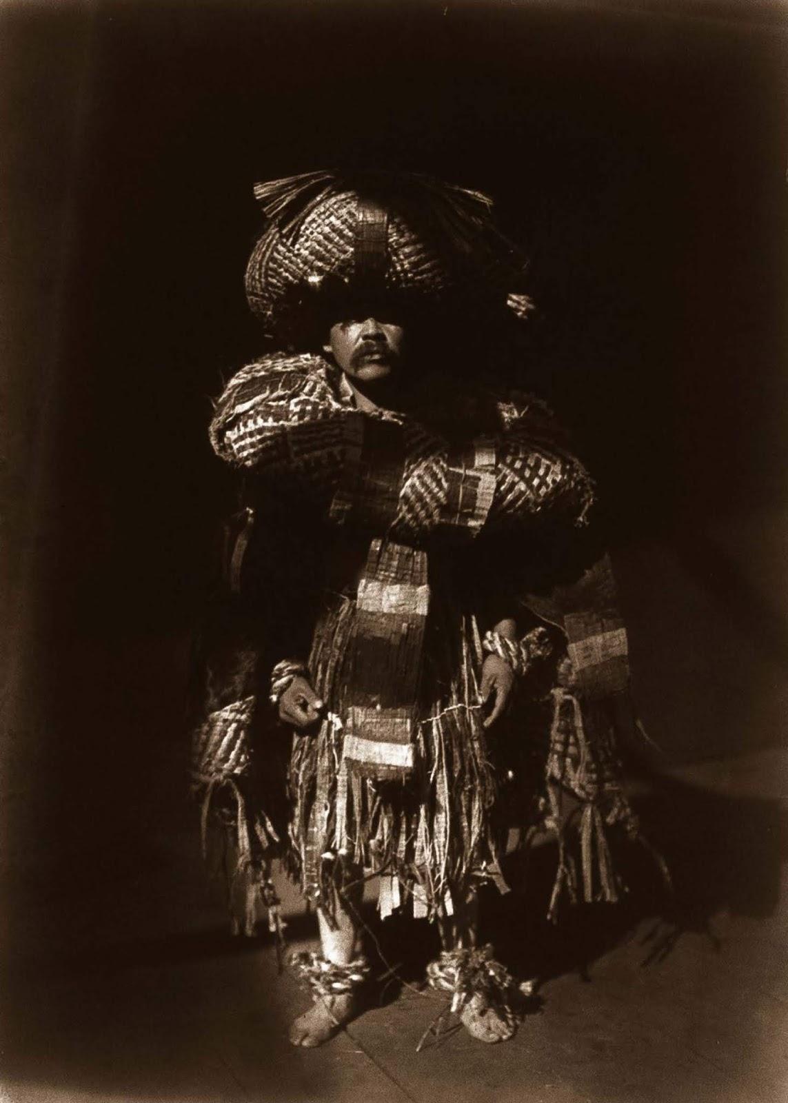 A Kwakiutl shaman. 1914.
