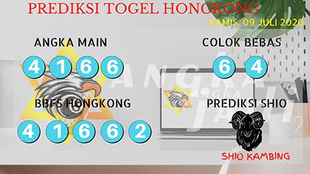 Prediksi Togel Angka Jadi Hongkong HK Kamis 09 Juli 2020