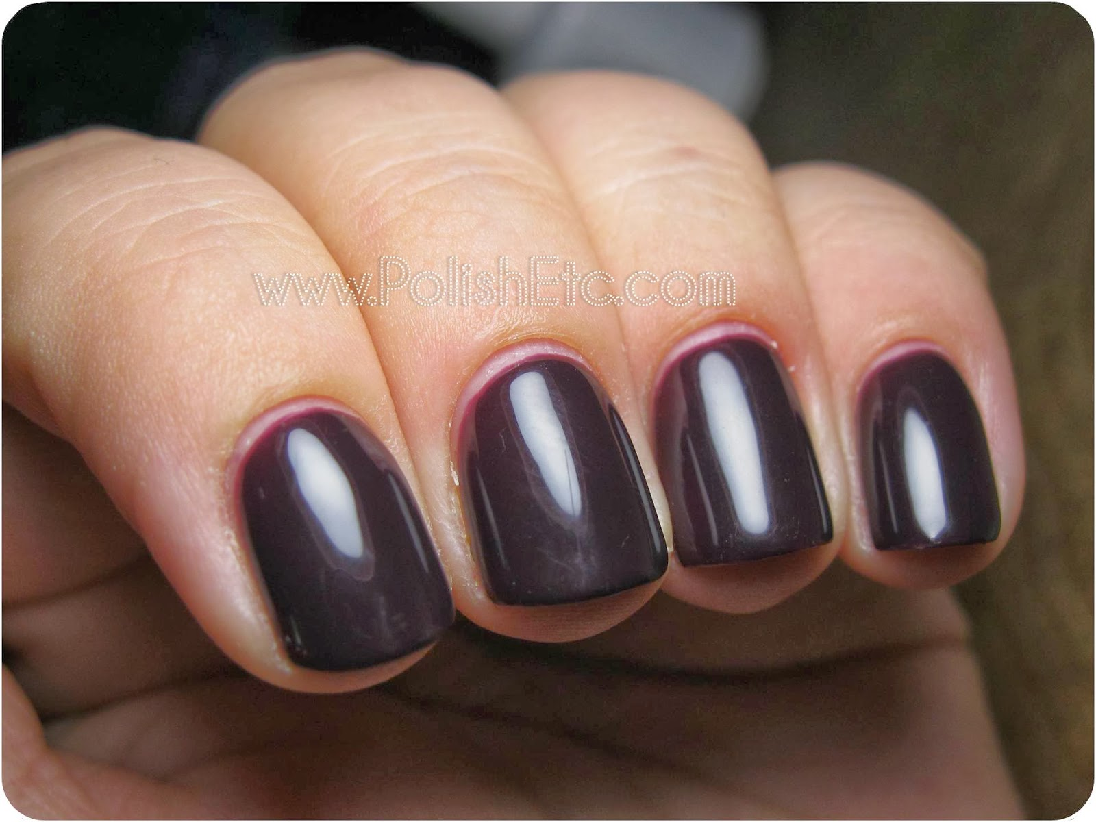 Gelish Love Me Like A Vamp Swatches And Review Polish Etc