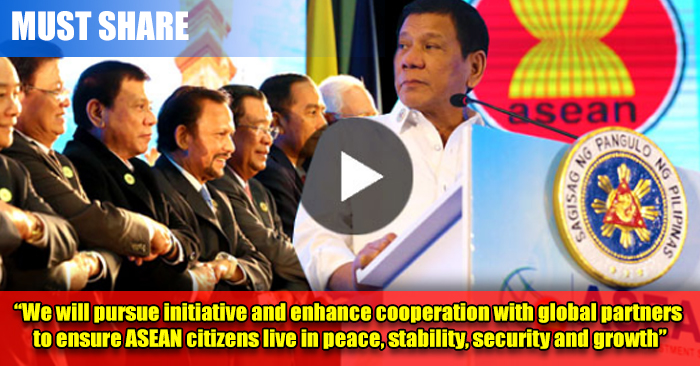 MUST PROUD: President Duterte Is The New ASEAN Chair