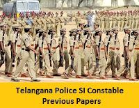 Telangana Police SI Constable Previous Papers