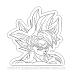Ultra Instinct Goku - Dragon Ball para Colorir