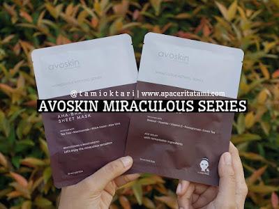 [REVIEW] Avoskin Miraculous Sheet Mask: AHA-BHA-PHA Sheet Mask & Retinol Sheet Mask