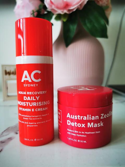 Australian Cosmetics Zeolite mask & Vit E cream