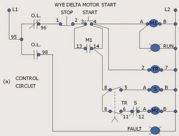 Wye Delta Motor Wiring Diagram Wiring Diagram