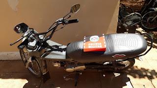 Após perturbação de sossego, moto é apreendida em Brejo dos Santos