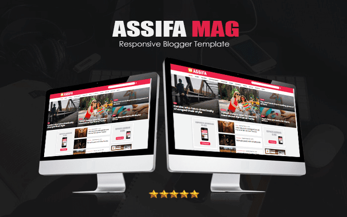 Assifa Mag Responsive Blogger Template  - Responsive Blogger Template