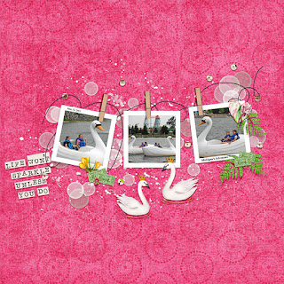 Creative Team, Annemarie, for Neia Scraps Designs  - Good Luck - Mini Kit and $5 Grab Bag - Templates March and Connie Prince