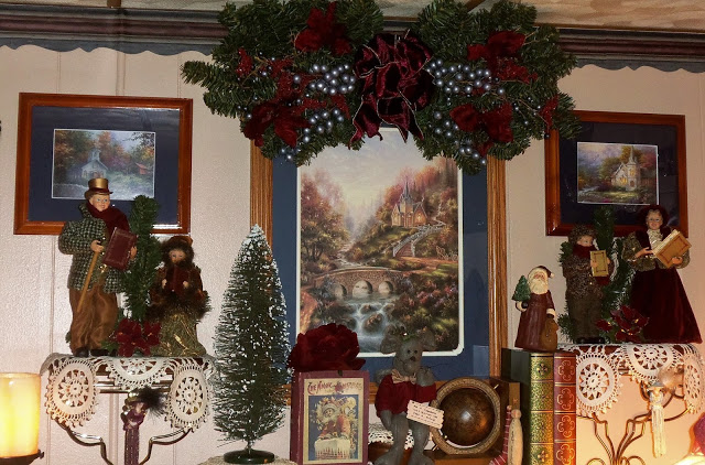 Christmas in the Den, Part 2, Christmas Home Tour, 2017