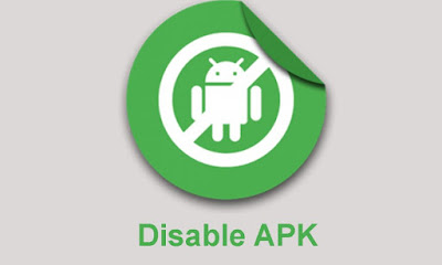 Cara Disable Update APK