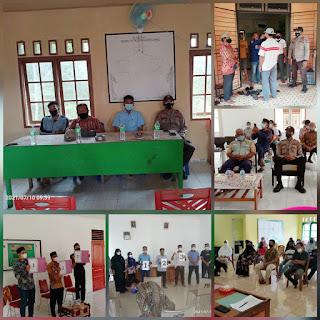 Panitia Pilkades Tetapkan Dan Undi Nomor Urut Cakades di Empat desa yang ada di kecamatan Selayar