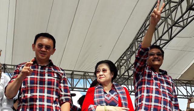 Kampanye untuk Djarot, Megawati: Pemimpin Tidak Boleh Berkata Keras dan Menabok Rakyat