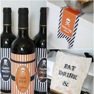 DIY Spooky Halloween Sign & Free Printables