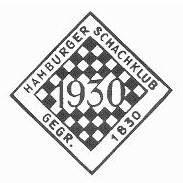 Emblema del centenario del Hamburger Schachklub