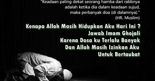 Tata Cara Niat Dan Bacaan Doa Setelah Sholat Taubat Nasuha ...
