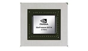 Nvidia GeForce GTX 670MX(ノートブック)ドライバーのダウンロード