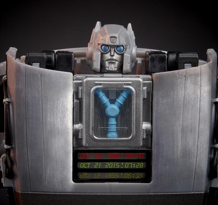 Back To The Future Transformer Gigawatt Delorean Time Machine