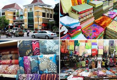 toko kain beteng trade center BTC pasar kliwon Solo