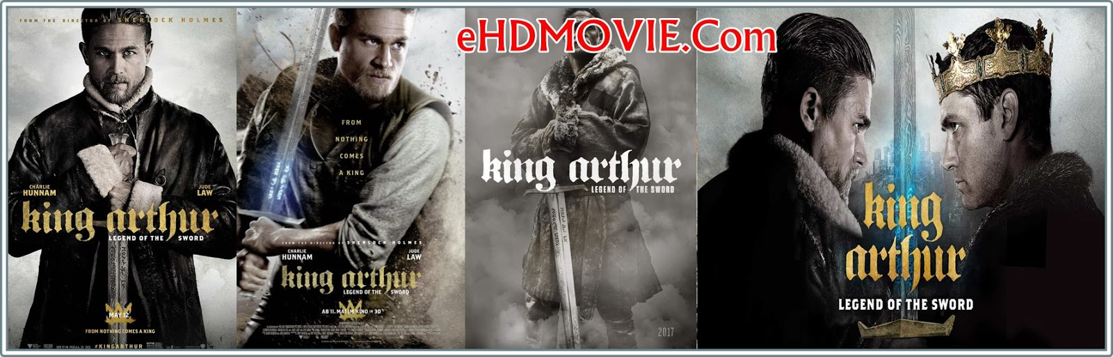 King Arthur: Legend of the Sword 2017 Full Movie English 720p - 480p ORG BRRip 450MB - 1GB ESubs Free Download