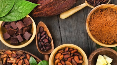 Unsweeten local Cocoa powder Africa food