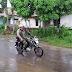 Anggota Koramil dan Polsek Kesugihan, Patroli Bersama Antisipasi Bencana