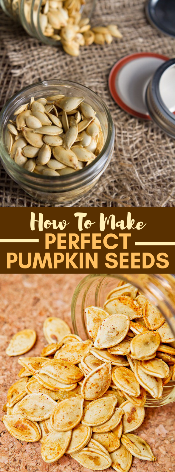 How to Make Perfect Pumpkin Seeds #healthy #snacks