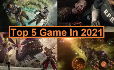 top 5 game in 2021 for free
