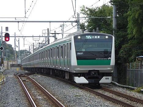 りんかい線 埼京線直通 各駅停車 川越行き3 E233系