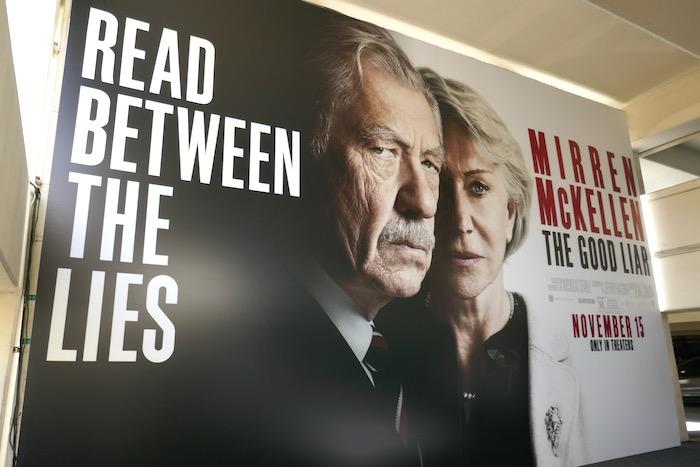 Good Liar movie billboard