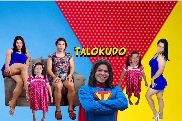 Personagens do Talokudo: Ketley, Katia e dona Jacinta. a família mais louca do Brasil
