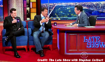 Mysterious Star and Aliens Were Hot Topic on Late Show with Stephen Colbert