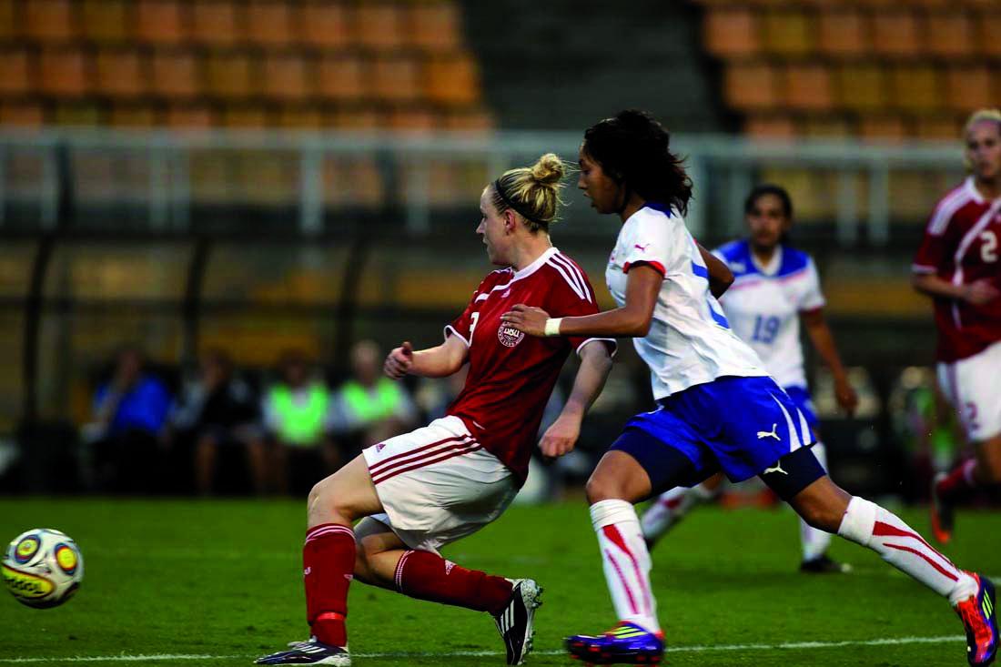 Dinamarca y Chile en Torneio Internacional Cidade de São Paulo 2011, 8 de diciembre