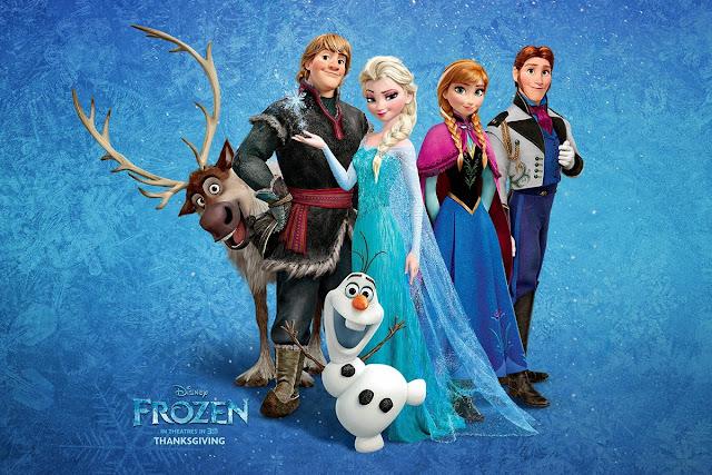 Cartaz do filme Frozen (Foto: Divulgação)