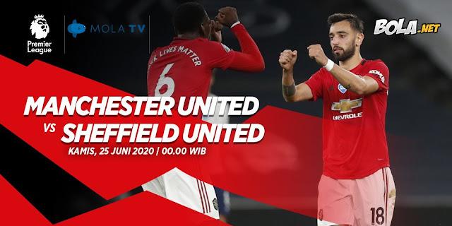 Prediksi Manchester United Vs Sheffield 28 Januari 2021