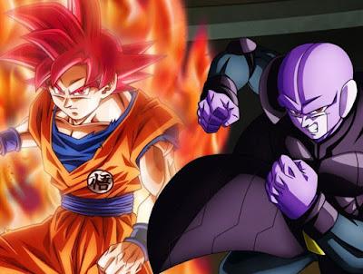 """""""Dragon Ball Super"""" Episodio 104 - ¡Estalla una batalla a altas velocidades! ¡El frente unido de Goku y Hit!"""