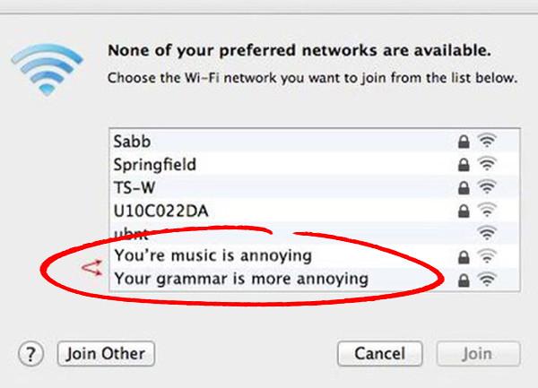 Funny wifi names 2019