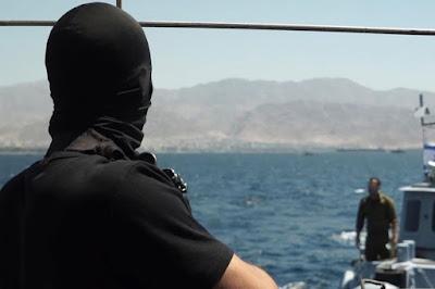 Marinha israelense simula sequestro
